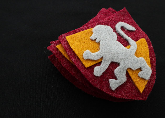 DIY Harry Potter Gryffindor Crest Patch with Template | My ...