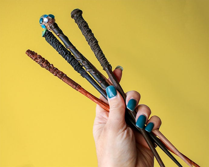 DIY Harry Potter Wizard Wands
