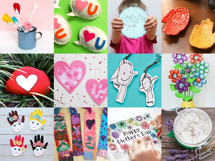 12 Mother's Day Gifts That Kids Can Make