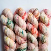 12 Covetable Hand Dyed Yarns + Etsy on Sale