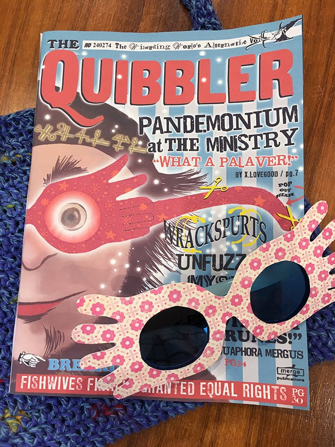 picture about Quibbler Printable identified as Luna Lovegood Cosplay - The Greatest Selfmade Gown