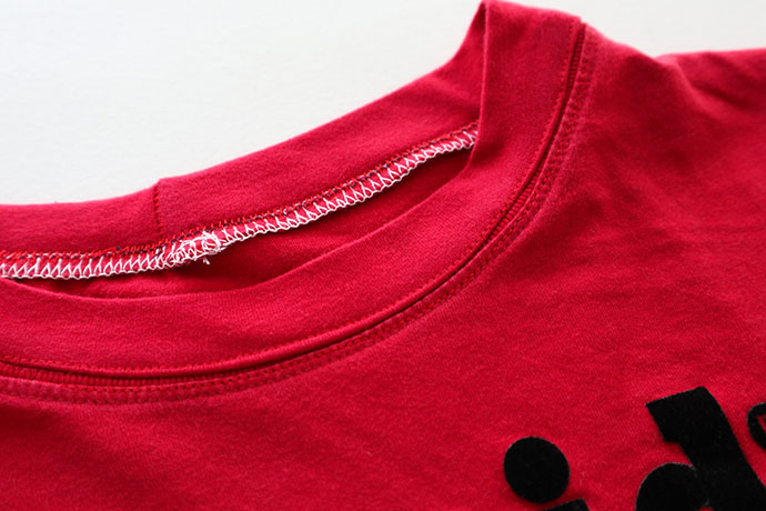 How toa sew an t-shirt neckband - mypoppete.com.au