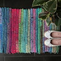 Upcycle Style: Denim Rag Rug