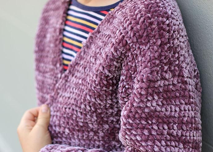 Pattern Yarn Bernat Velvet