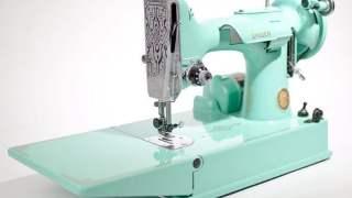 Restored Vintage Singer Featherweight 221 Sewing Machine