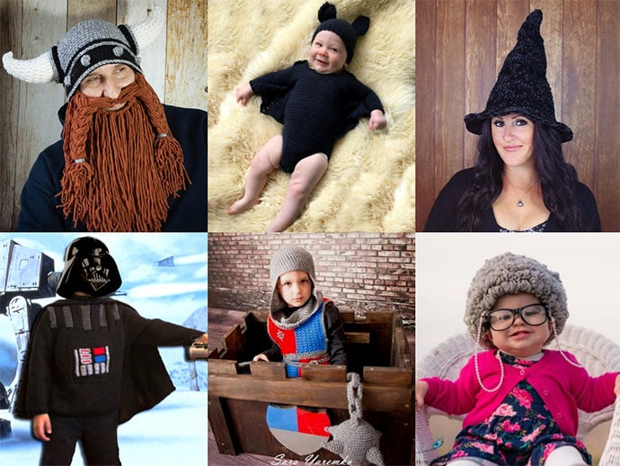30 Amazing Halloween Costume Patterns to Knit & Crochet
