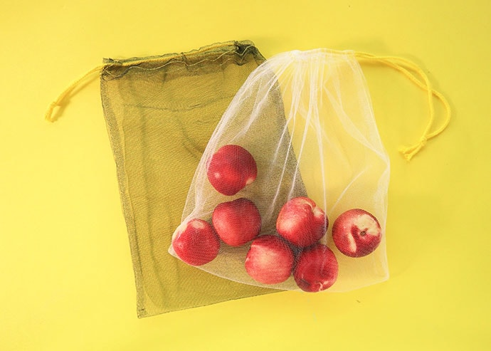 Let's Sew Reusable Mesh Produce Bags