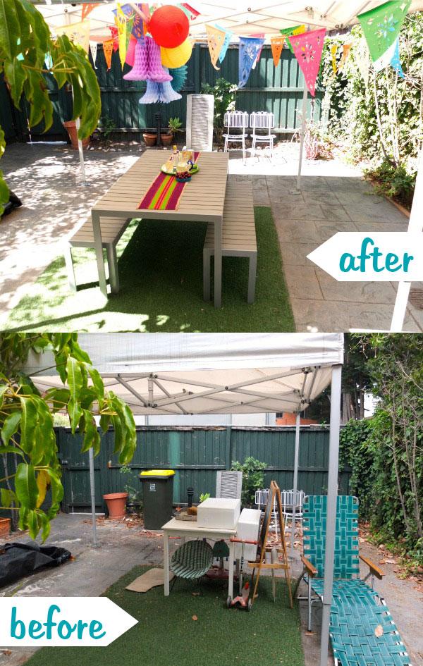 Transform your courtyard