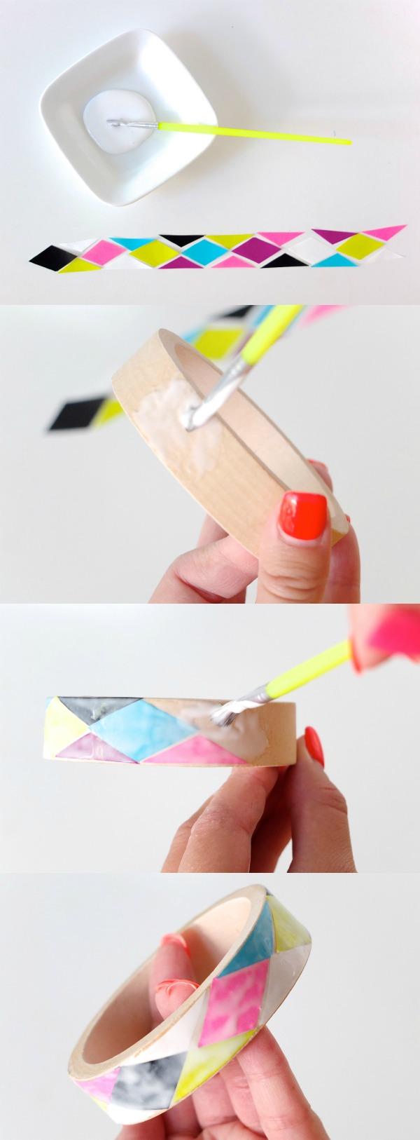Bangle DIY tutorial steps