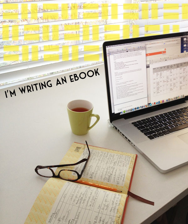 I'm writing an eBook www.mypoppet.com.au