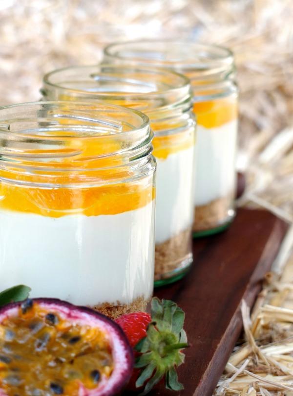 layered cheesckake in jar mypoppet.com.au