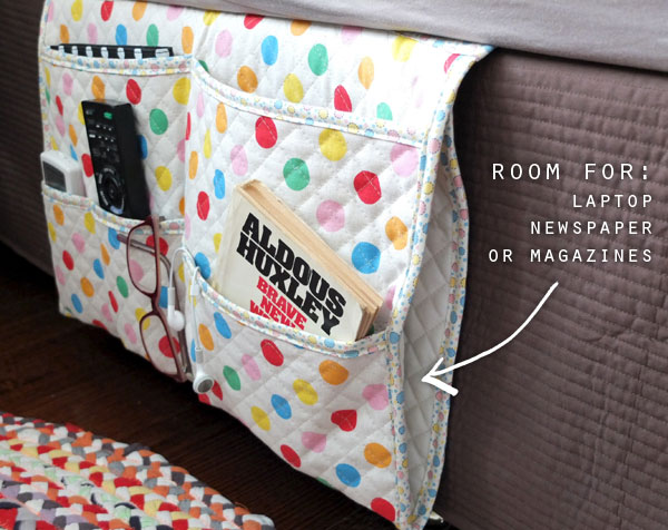 How To Bedside Gadget Caddy And Stuff Organiser My
