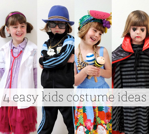 4 easy kids costume ideas on a budget