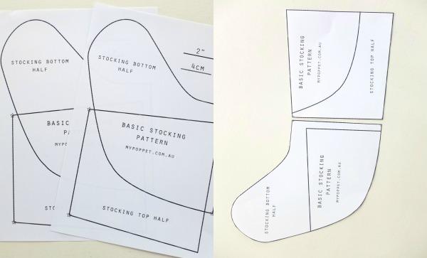 Free PDF stocking pattern