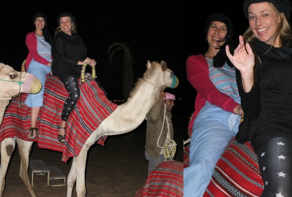 Camel ride luxury desert safari dubai