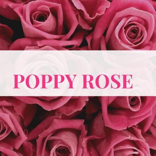 Poppy Rose.