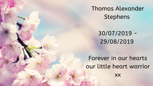 Remembering our babies: Thomas Alexander Stephens.