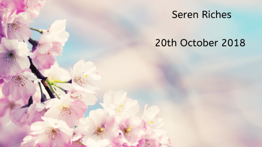 Remembering our babies: Seren Riches.
