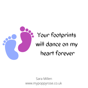 Quote: Your footprints will dance on my heart forever.