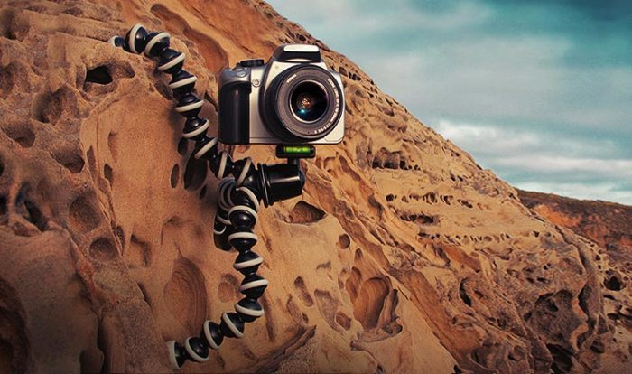 Self-Portrait - Gorillapod