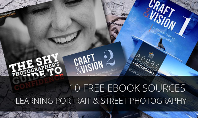 10 Free Ebook Sources for Learning Portrait and Street photography