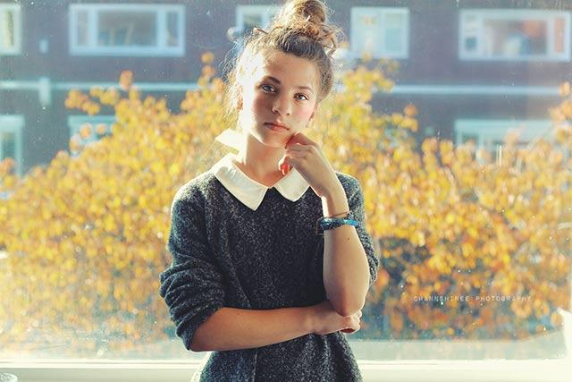 Classic Girl Portrait