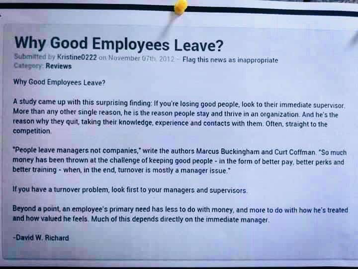 good employees