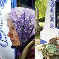 Czech grandma transforms small village into her own art gallery