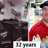 McDonald employee with Down Syndrome retires after 32-years