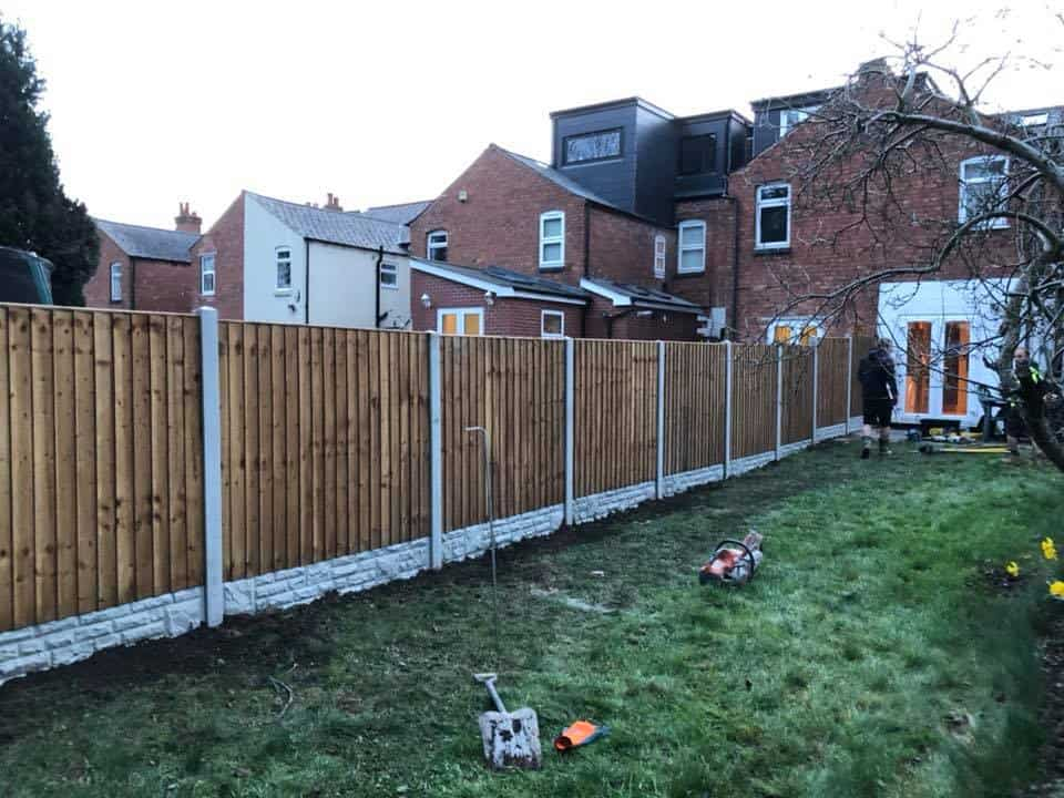 One of Midlands Fencing & Aggregates' projects