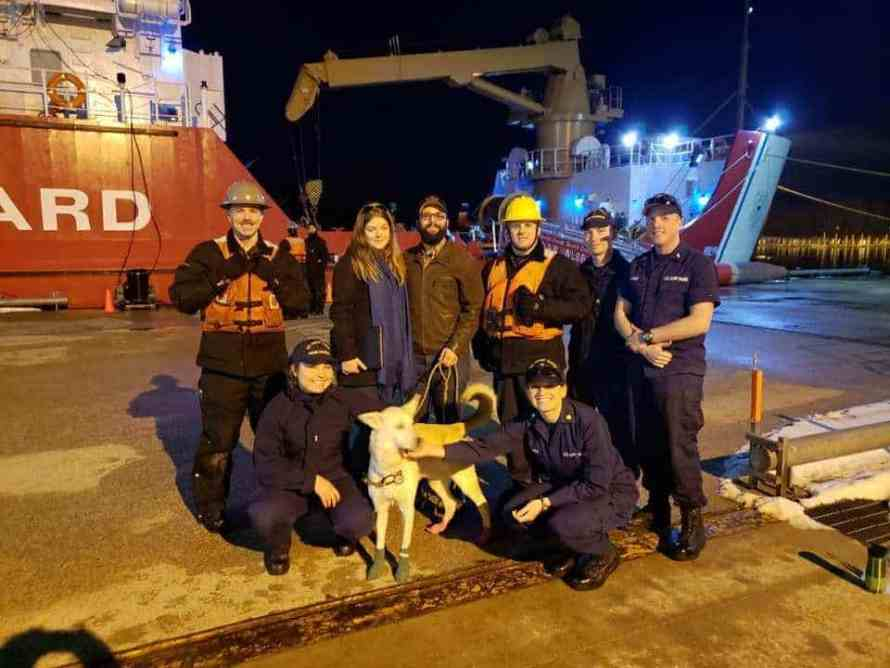 US Coast Guard reunites dog with his owners who are from Canada