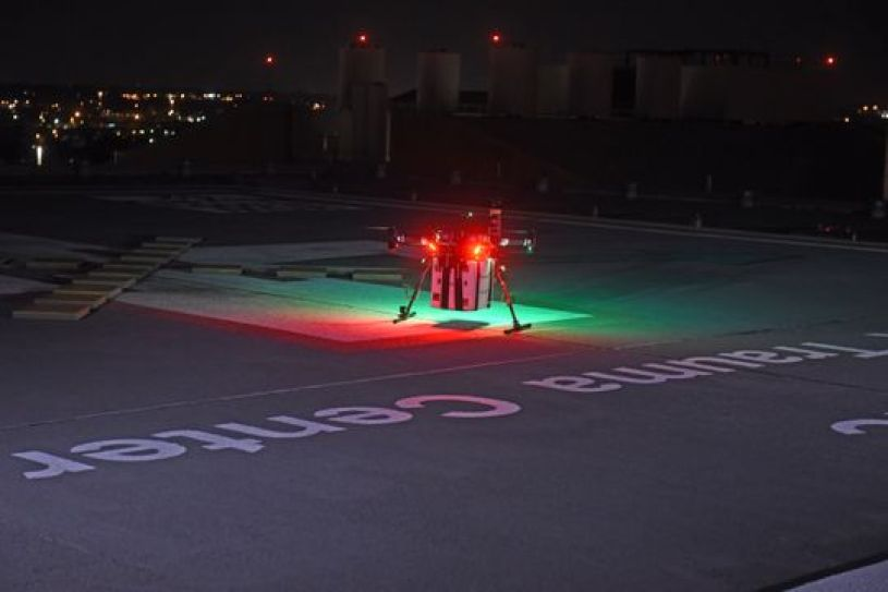 drone used to deliver donated kidney