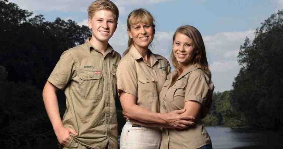 Steve Irwin's family