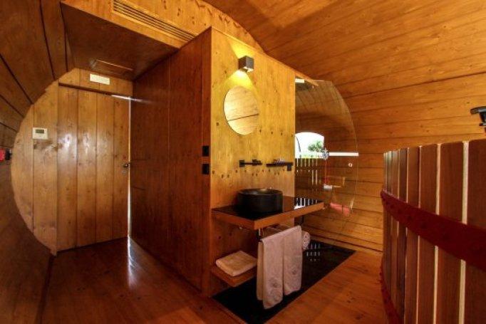 stay inside a wine barrel
