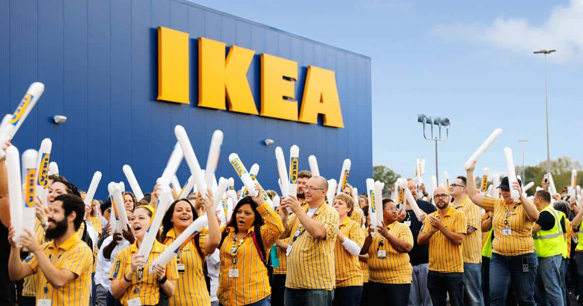 Ikea store to build homes.