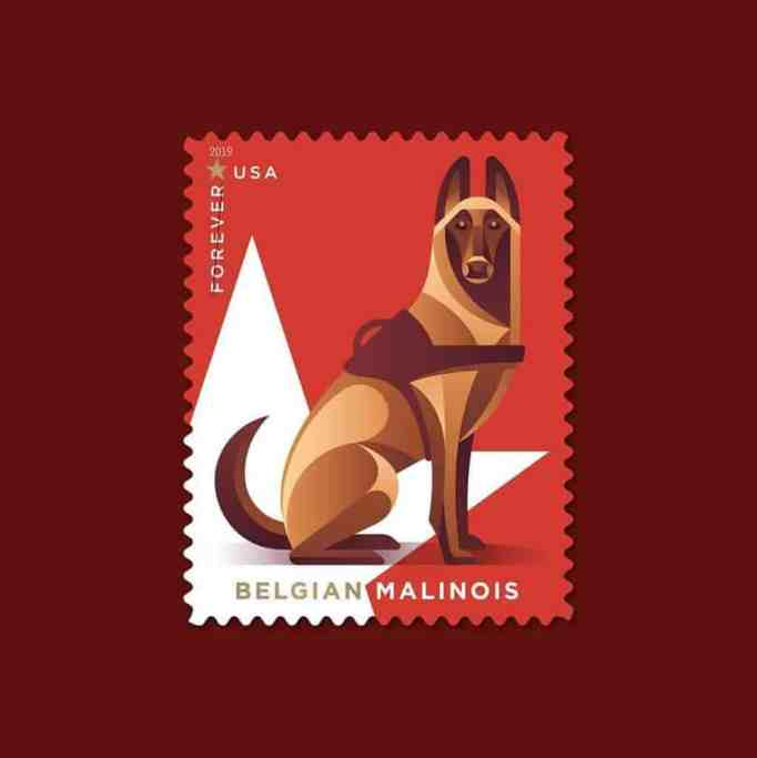 new stamps for dog lovers