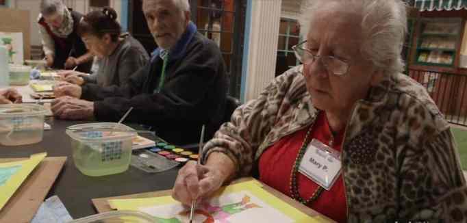 Dementia patient's activity