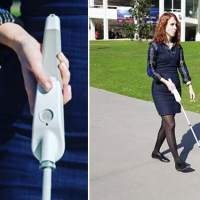 Blind engineer builds a SMART cane that has Google Maps, Bluetooth, and a sensory device