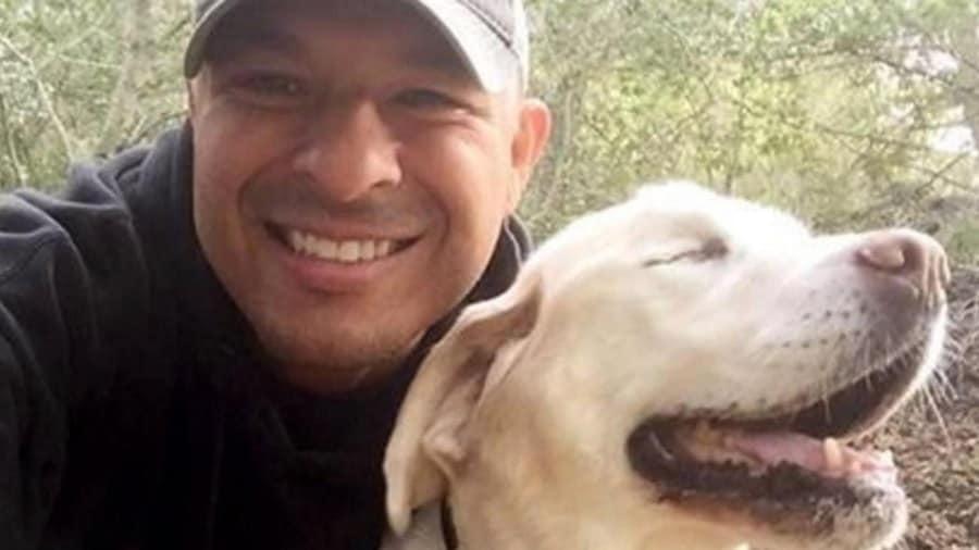 Dan Estrada rescues a blind dog