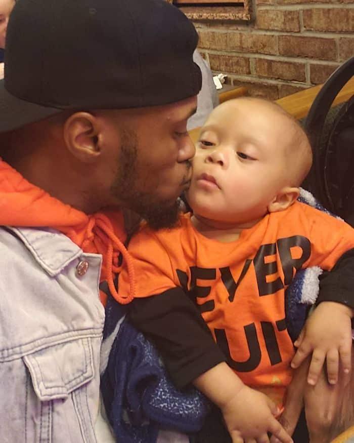 Amazing cancer-free boy celebrates life.