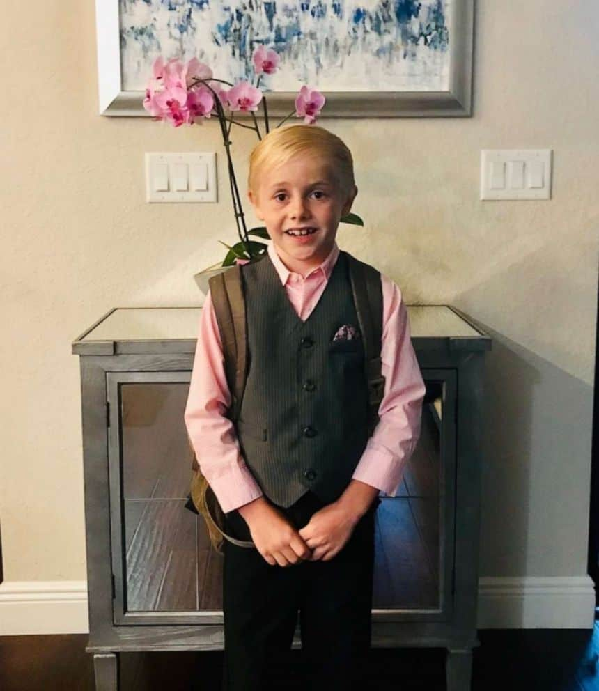 Parker Williams excited to meet his teacher