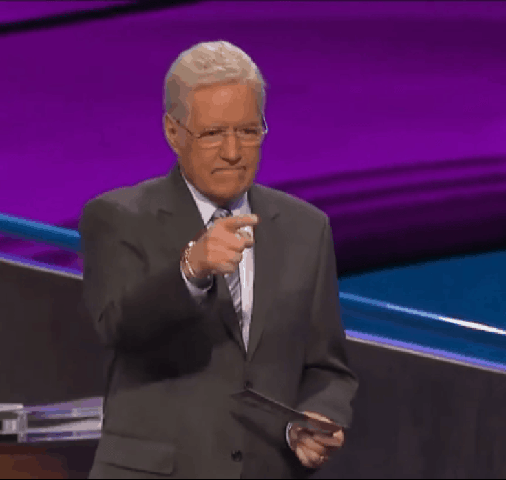 Alex Trebek diagnosed with pancreatic cancer continues to host a game show.
