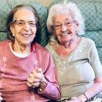 Best friends of 78 years move into the same elderly care home together