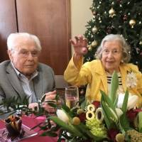 World's oldest married couple - ages 106 and 105 - celebrate 80 years of wedded bliss!