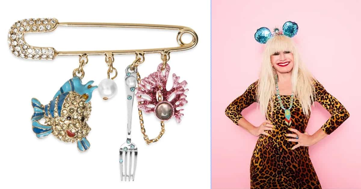 See the Little Mermaid-inspired accessories collection designed by Betsey Johnson for Disney - my positive outlooks