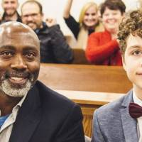 Single dad adopts teen boy who was left in a hospital when he was 11 years old