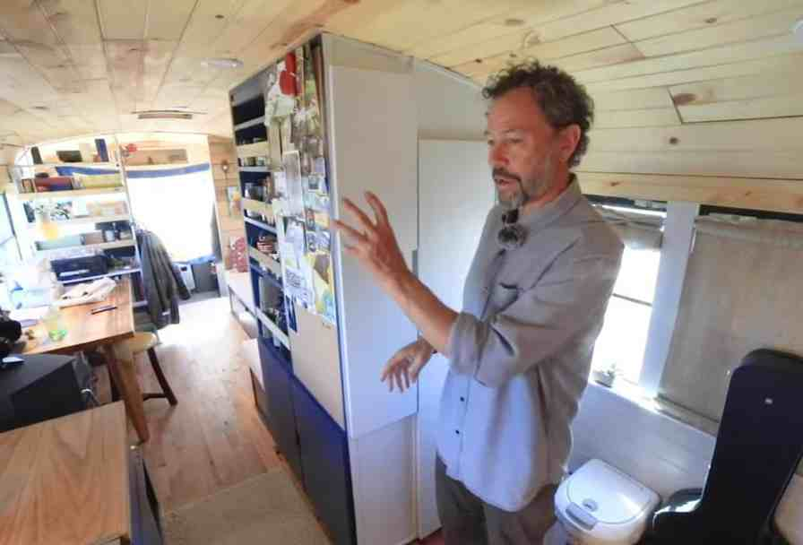 For a lot of tiny homes, making space is a problem, but not for this owner.