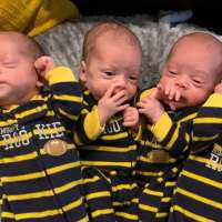 Mom delivers ultra rare identical quadruplets during COVID-19 pandemic