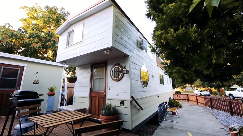 Building a tiny house and living in it for over a year is the best debt relief program Shalina discovered.