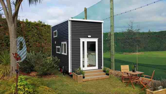 A tiny home with every square footage used wisely.